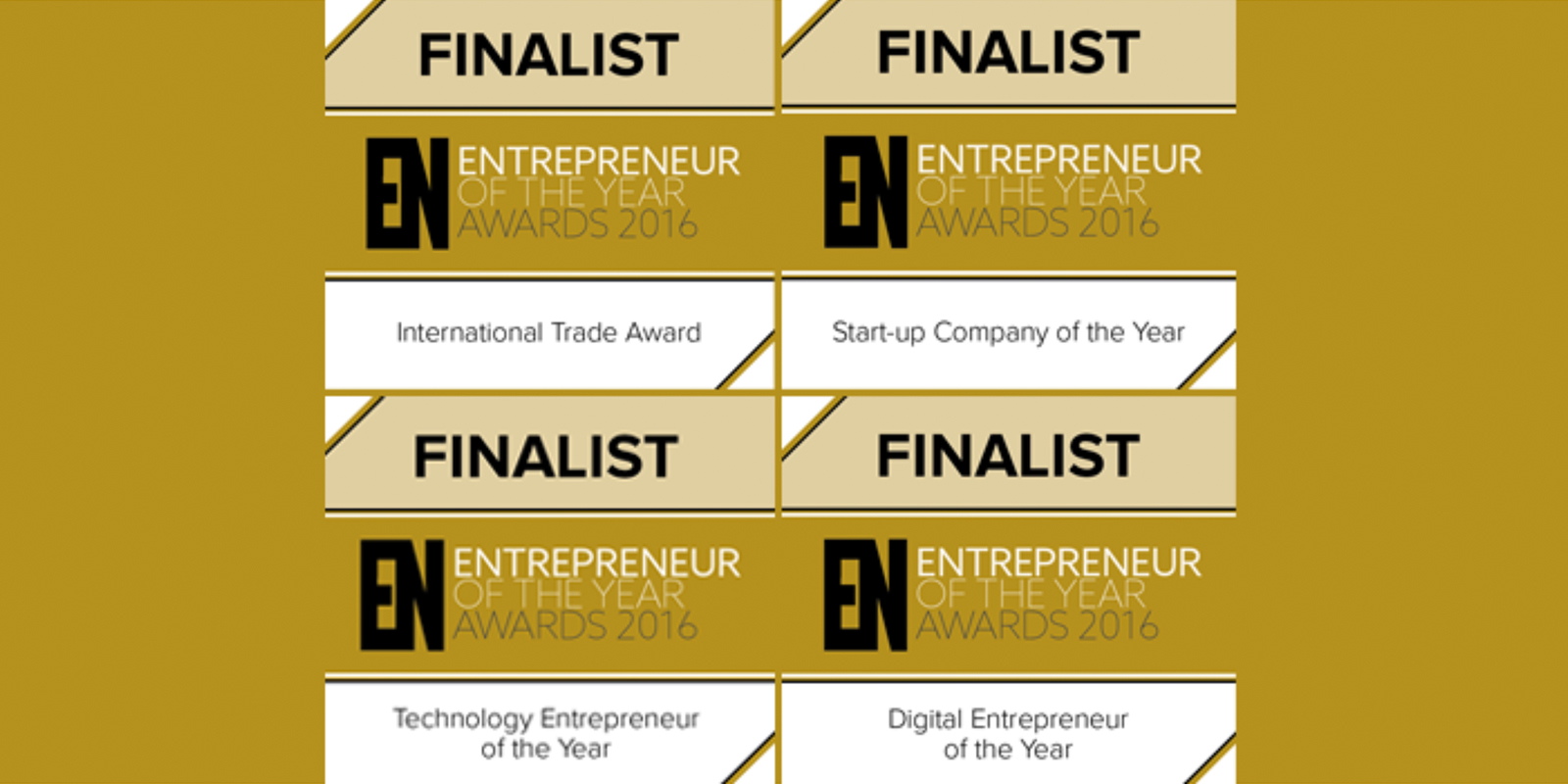 North West Entrepreneur of the Year Awards Finalist