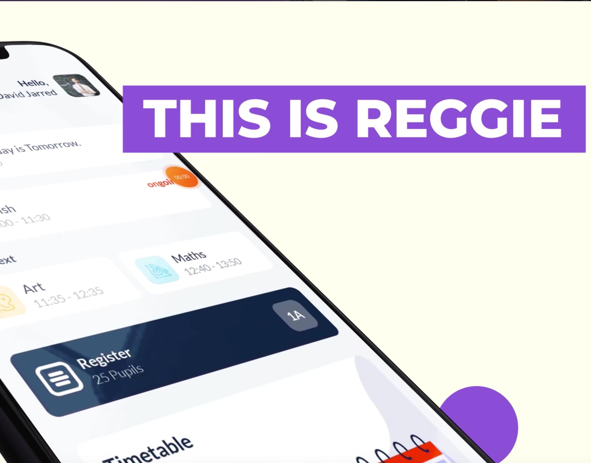NEW Reggie® Education App in early 2021!